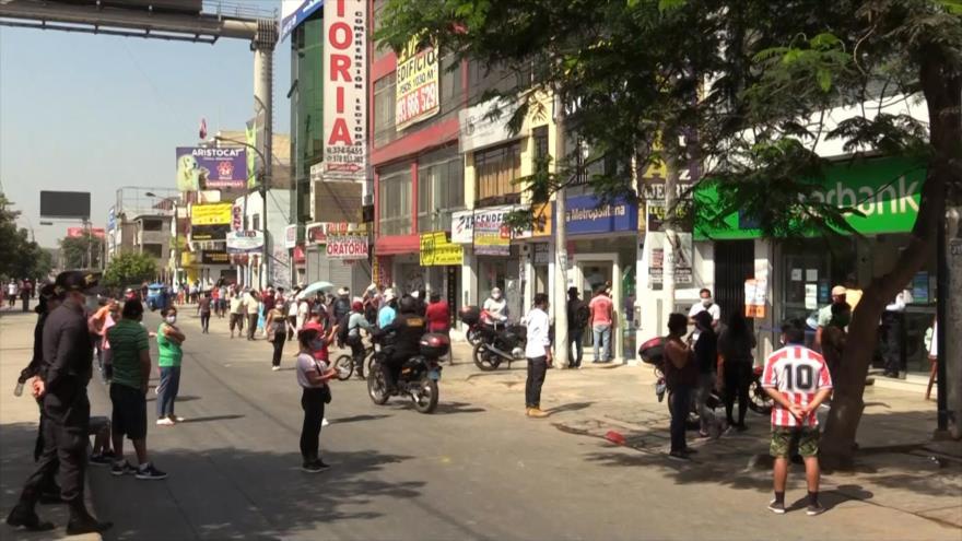En Perú ya no se respeta la cuarentena