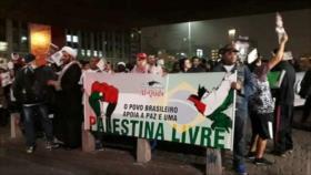 Se solidarizan desde Venezuela y Brasil con la nación de Palestina