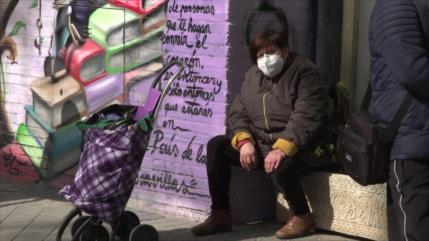 En medio de la pandemia, pobreza y desempleo azotan a España