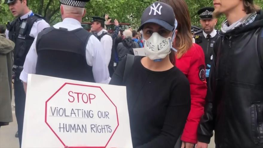 Europa, escenario de protestas por medidas para reabrir los países