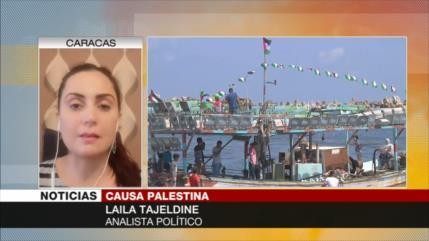 Tajeldine: Comunidad internacional es responsable por crímenes de Israel