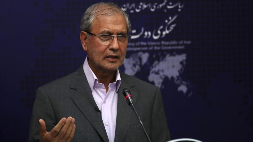 El portavoz del Gobierno de Irán, Ali Rabiei.