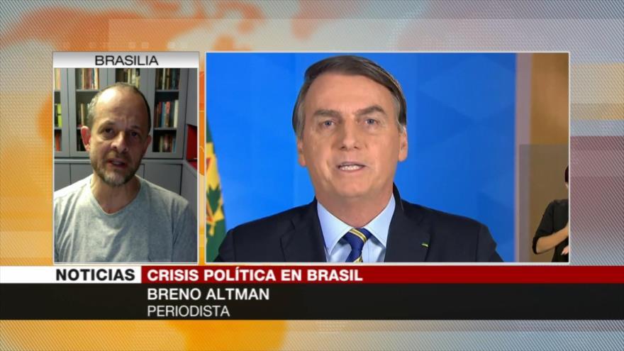 Altman: Bolsonaro no ha sido capaz de organizar la salud pública