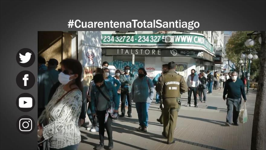 Etiquetaje: Cuarentena total en Santiago de Chile