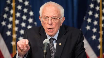 """Sanders critica la """"economía amañada"""" de EEUU en medio de COVID-19"""