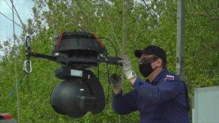 Dirigible detecta a infractores de normas de cuarentena en Rusia