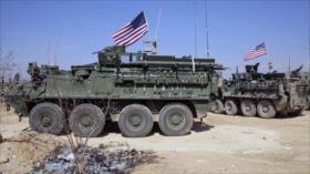 EEUU envía otro convoy militar a zona rica en petróleo en Siria