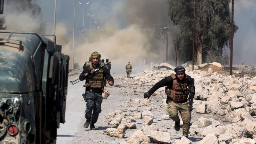 Vídeo: Fuerzas iraquíes hacen explotar campo militar de Daesh | HISPANTV