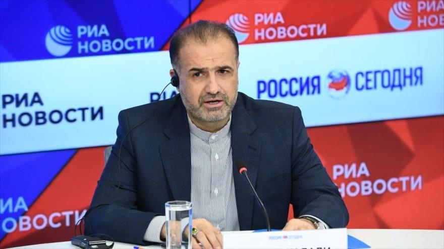 El embajador iraní en Rusia, Kazem Yalali.