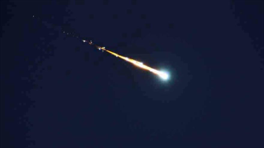 Vídeo: Meteorito cae e ilumina cielo de Siberia como bola de fuego