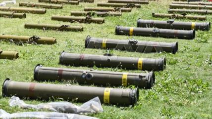 Vídeo: Siria incauta a terroristas armas estadounidenses e israelíes