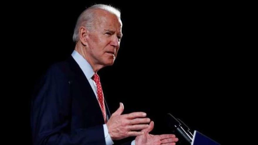 El exvicepresidente de EE.UU. Joe Biden habla en una rueda de prensa, 8 de mayo de 2020. (Foto: Reuters)