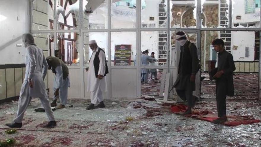 Ataque a una mezquita en Afganistán deja ocho fieles muertos | HISPANTV