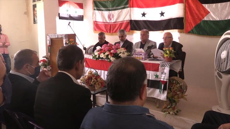 Siria celebra un evento para conmemorar Día Mundial de Al-Quds