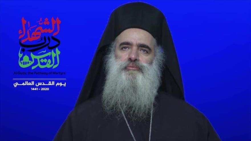 Líder cristiano palestino llama a unirse para liberar Al-Quds