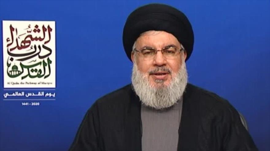 Nasralá: Estamos más cerca que nunca de la liberación de Al-Quds