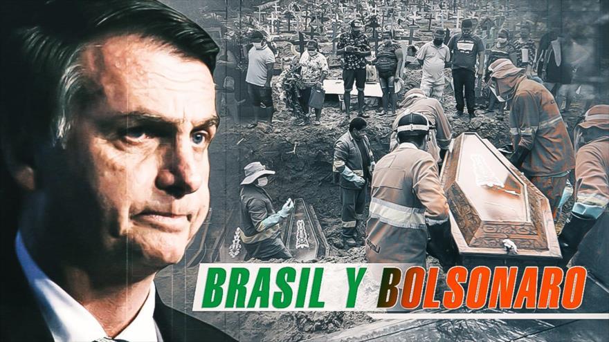 Detrás de la Razón: Presidente brasileño enfrenta críticas por manejo de la epidemia