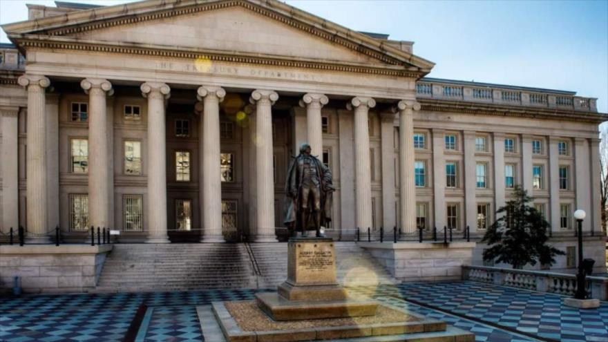Sede del Departamento del Tesoro de EE.UU., Washington D.C., la capital.