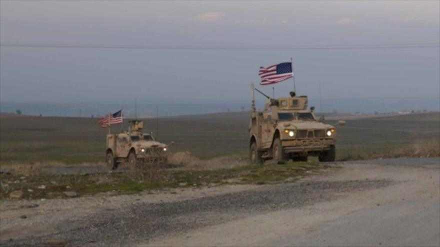 Ejército sirio frena paso de convoy militar de EEUU en Al-Hasaka | HISPANTV