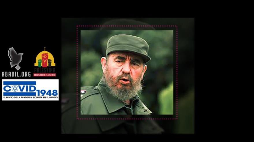 El difunto líder revolucionario cubano, Fidel Castro.