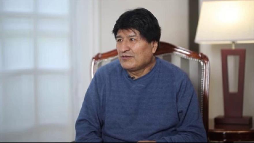 Evo Morales reitera apoyo de Bolivia a la causa palestina