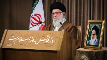 Líder de Irán: Occidente creó Israel para dominar el oeste de Asia