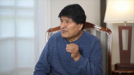 """Morales ve """"prácticas similares"""" en el gobierno de Áñez e Israel"""