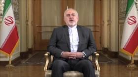 Zarif: EEUU es cómplice de crímenes de Israel contra palestinos