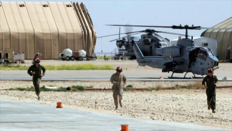 Base aérea de Ain Al-Asad en la provincia iraquí de Al-Anbar (oeste).