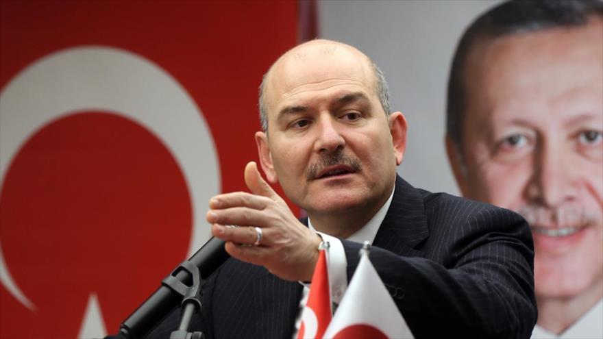 El ministro turco del Interior, Suleyman Soylu.