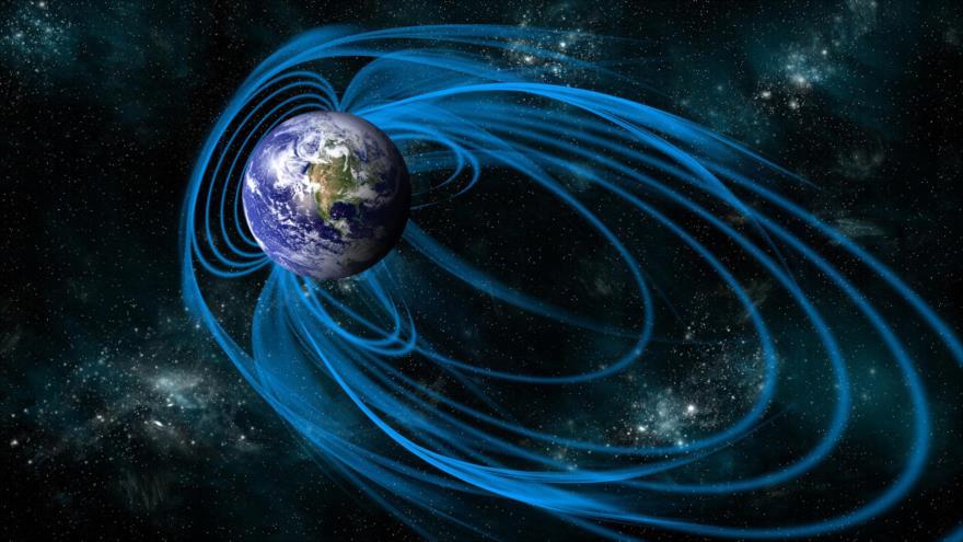 Campo magnético de la Tierra se está debilitando tras 780 000 años.