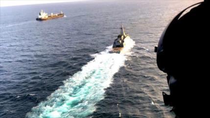 Fotos y vídeo: Así patrulleros venezolanos escoltan buque iraní