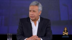 Moreno reconoce: Ecuador no estaba preparado para una pandemia