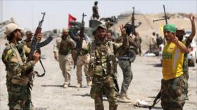 Fuerzas populares iraquíes frustran ofensiva de Daesh en Samarra