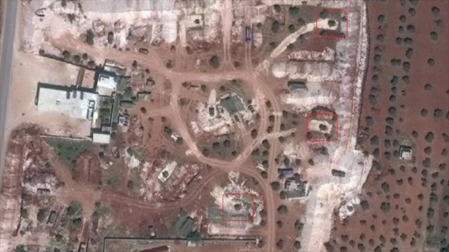 Sistemas turcos de defensa aérea de rango medio MIM-23 Hawk en la provincia siria de Idlib.