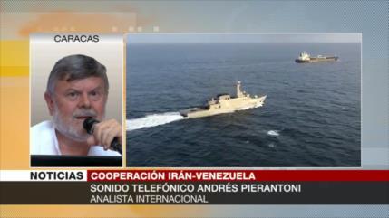 Pierantoni: Venezuela e Irán, ganadores frente a coerción de EEUU