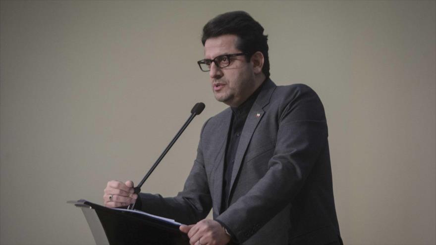 El portavoz del Ministerio de Exteriores de Irán, Seyed Abás Musavi.