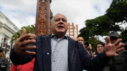 """Cabello: Irán y Venezuela dan un paso más contra el """"imperialismo"""""""