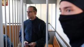 Fiscalía rusa pide pena de 18 años para un espía de EEUU