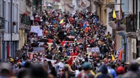 Gobierno de Lenín Moreno enfrenta nueva ola de protestas