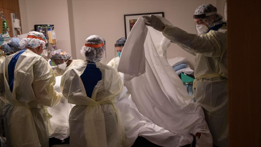 EEUU registra cerca de 100 mil muertos por la COVID-19   HISPANTV