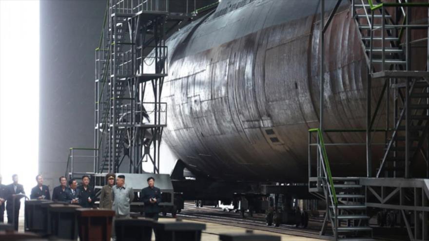 Nuevo submarino nuclear de Pyongyang, listo para ser desplegado | HISPANTV