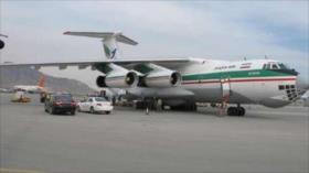 Irán envía avión con ayuda humanitaria a Afganistán por COVID-19