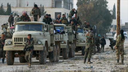 Ejército sirio intensifica ataques contra terroristas en Idlib