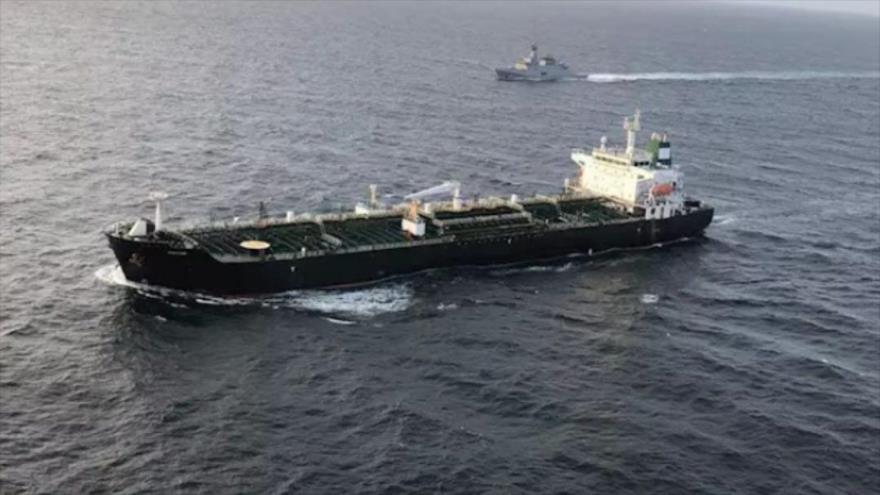 El petrolero con bandera iraní, Fortune, llegó a las aguas de Venezuela, 23 de mayo de 2020.