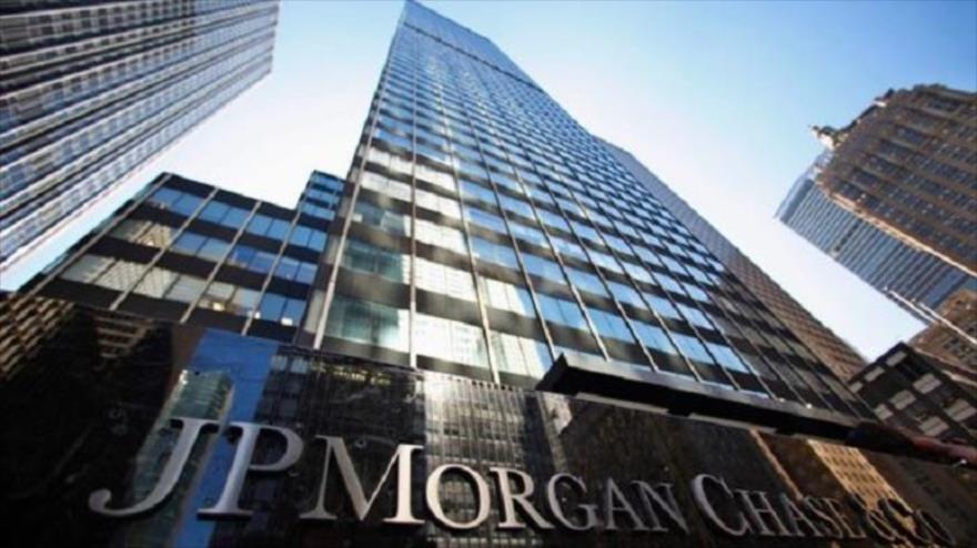 Un edifico del banco estadounidense JPMorgan Chase.