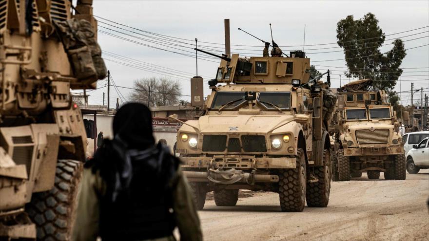 Ejército sirio hace retroceder a un convoy de EEUU en Al-Hasaka | HISPANTV