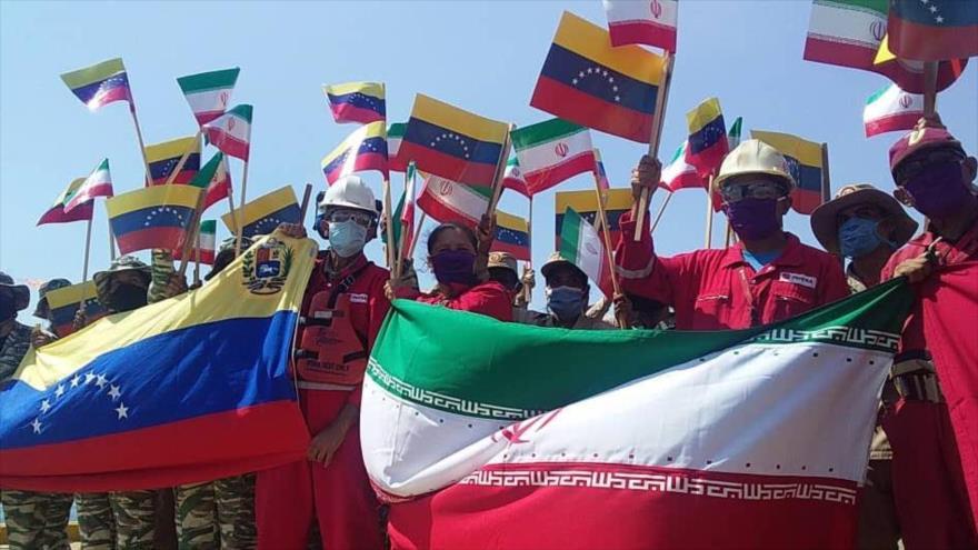 'Petroleros iraníes en Venezuela indican fin de hegemonía de EEUU' | HISPANTV
