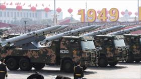Defensa china advierte sobre alto riesgo de confrontación con EEUU
