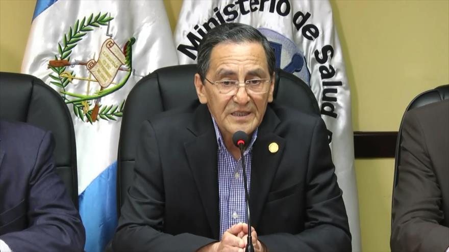Piden destitución de ministro de Salud de Guatemala por COVID-19